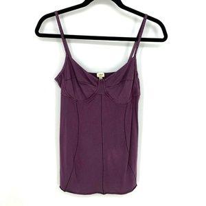 Wilfred Purple Sweetheart Camisole Tank Top